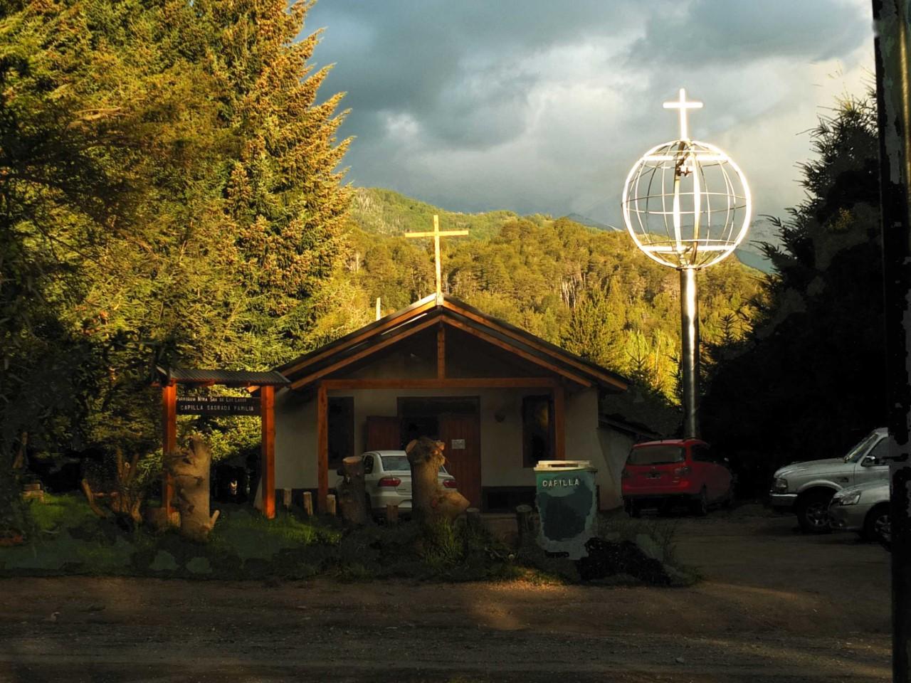 La chapelle de Las Piedritas en Argentine