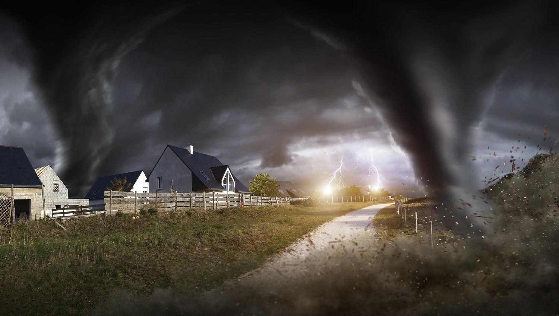 Tempêtes et tornades : formation, dégâts et mesures défensives