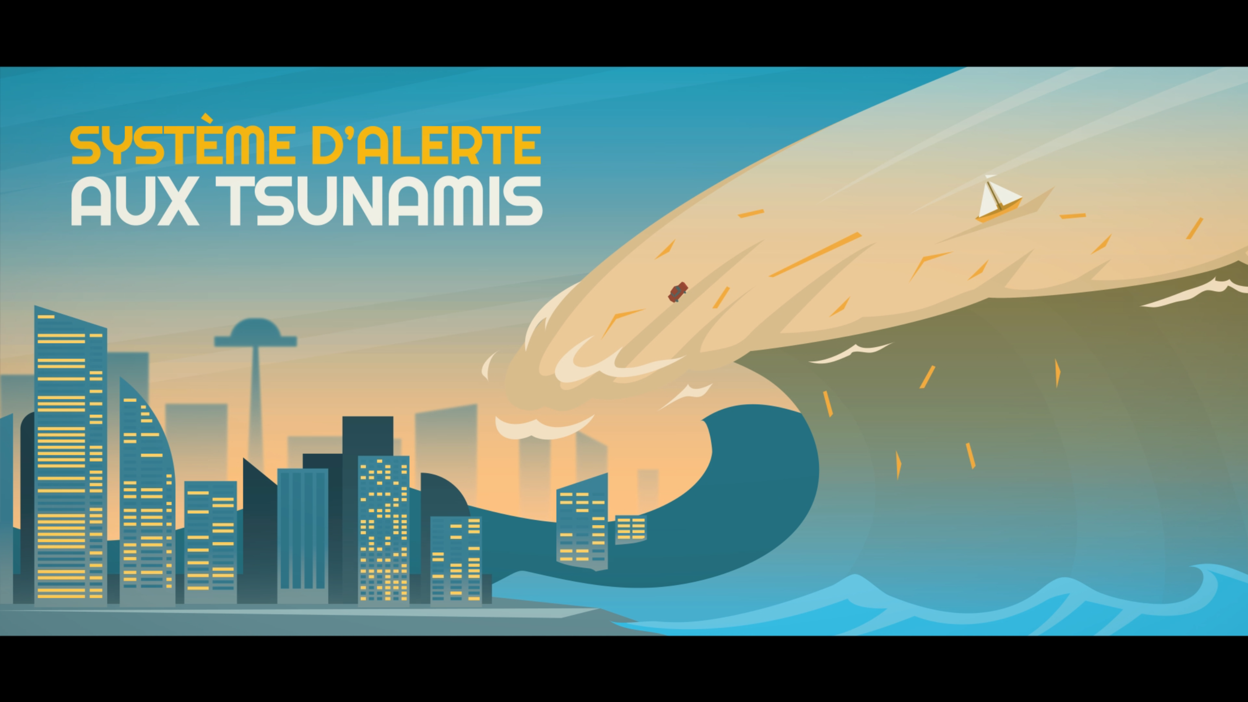 Alerte précoce au tsunami