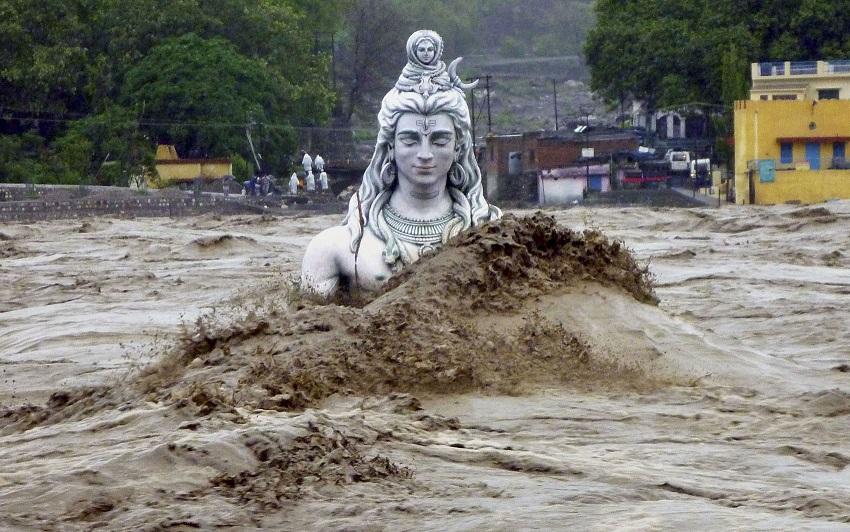 Inondation en Inde en 2013, Photo United Nations Office for Disaster Risk Reduction
