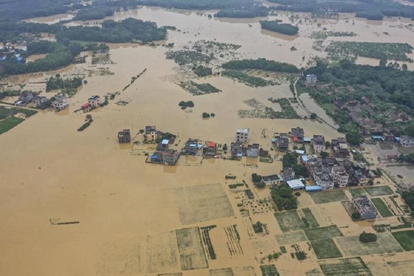 Inondation le 9 juin 2020 Photo China News Service