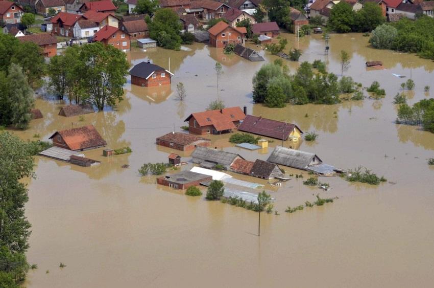 Inondations en Europe du Sud-Est en 2014, Photo The Associated Press