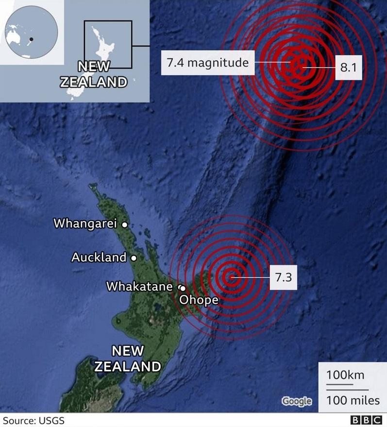 Tremblement de terre en Nouvelle-Zelande_BBC