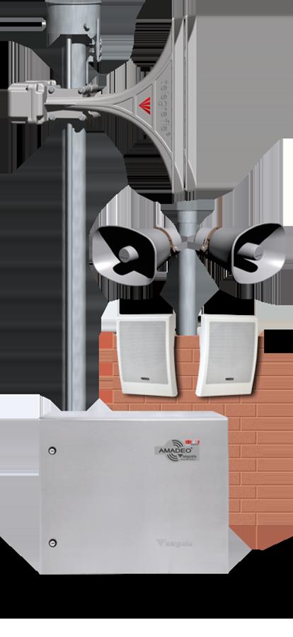 Systeme de sonorisation Amadeo